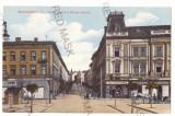 1028 - TARGU MURES, Market, Romania - old postcard - used - 1915