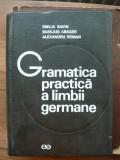 SAVIN / ABAGER / ROMAN - GRAMATICA PRACTICA A LIMBII GERMANE - 1974