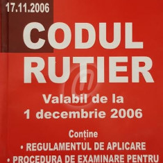 Codul rutier valabil de la 1 decembrie 2006
