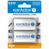Acumulator Everactive R20 D Professional Line 10000 mAh 2 Bucati / Set