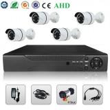 Cumpara ieftin Sistem Supraveghere Video 2MP 4 Camere AHD & DVR Kit Exterior Interior