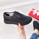 Pantofi dama Piele sport negri Iamori-20-rl