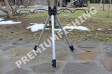 Stativ Tripod Trepied Telescopic Hakuyo 4 lansete Pescuit Feeder Rau Curgator, 4 posturi
