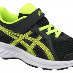 Pantofi alergare Asics Jolt 2 PS 1014A034-003 pentru Copii, 27, 28.5, 29.5, 30, 30.5, 32, Negru
