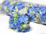 Floare artificiala Hortensia premium albastru