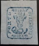 Cumpara ieftin MOLDOVA 1858 CAP DE BOUR 40 par., MI.6ay, MARGINI F. MARI, POANSON HEIMBUCHLER ., Nestampilat