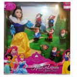Set Figurine Alba ca Zapada, 4-6 ani, Fata