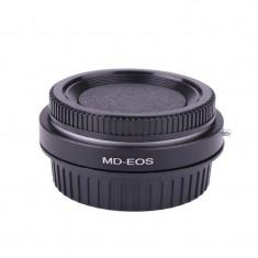 Inel adaptor Minolta MD MC - EOS Canon EF cu sticla de corectie la infinit