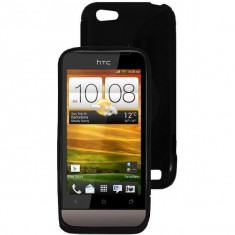 Husa Telefon Silicon HTC One V Black