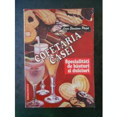 LIANA SAVULESCU PARJOL - COFETARIA CASEI. SPECIALITATI DE BAUTURI SI DULCIURI
