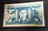 Romania - LP 179 - Frontul plugarilor MNH 1945 - Serie completa, Nestampilat