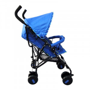Carucior cu copertina, suporta 15 kg, tip umbrela, Albastru