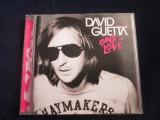 David Guetta - One Love _ cd,album _ Virgin ( 2009, Europa)