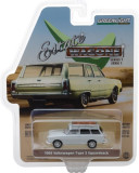 Cumpara ieftin 1968 Volkswagen Type 3 Squareback - Lotus White with Roof Rack Solid Pack - Estate Wagons Series 1 1:64