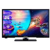 Televizor LED Wellington 24HD279, 61 cm, Smart TV, HD Ready