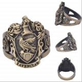 Inel Vintage Bronz HARRY POTTER Handmade Style - Ravenclaw - Marimea 18