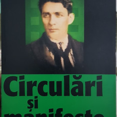 CIRCULARI SI MANIFESTE 1927-38 CORNELIU ZELEA CODREANU MISCAREA LEGIONARA GARDA