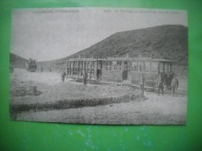 HOPCT 36989 TRAMVAI PUY DE COME  -SERIA FRANTA 1900-1905-NECIRCULATA foto