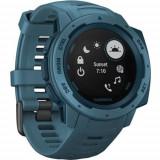 Ceas Smartwatch Garmin Instinct, GPS, Albastru petrol