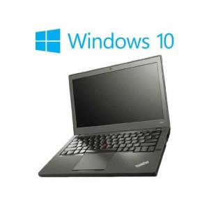 Laptopuri refurbished Lenovo ThinkPad X240, i5-4200U, Win 10 Home