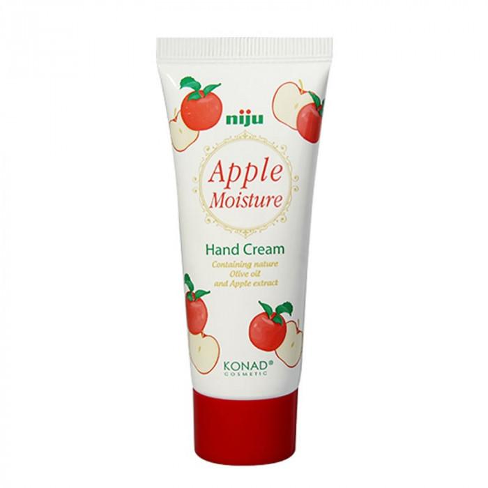 Crema de maini cu glicerina Konad, 60 ml, aroma mere