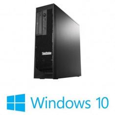 Workstation Refurbished Lenovo ThinkStation C30, 2 Xeon E5-2630, Win 10 Home