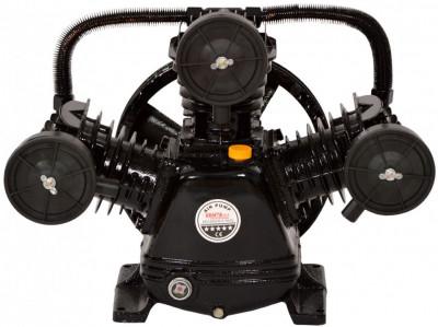 Cap compresor de aer cu 3 pistoane 5.5kW 670L/min KraftDele KD1406 TBC foto