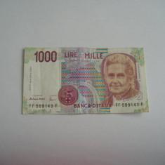 MDBS - BANCNOTA ITALIA - 1 000 LIRE