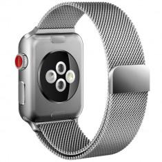 Curea otel inoxidabil Tech-Protect Milaneseband Apple Watch 1/2/3/4 (42/44mm) Silver