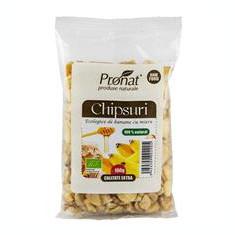 Chipsuri de Banane cu Miere Bio 100gr Pronat Cod: PRN4081