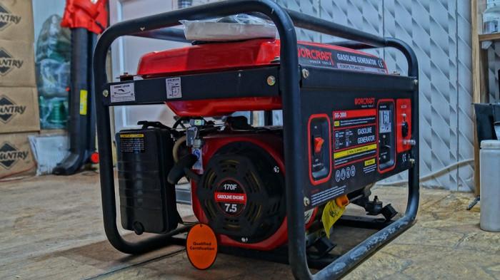 Super calitate! Generator electric Worcraft GG-3800