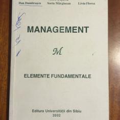 Tuturca - Management. Elemente fundamentale (Sibiu, 2002) Stare foarte buna!