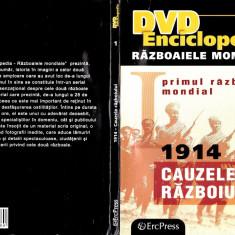 Războiaele mondiale - 1914 Cauzele războiului, DVD, Romana, productii romanesti