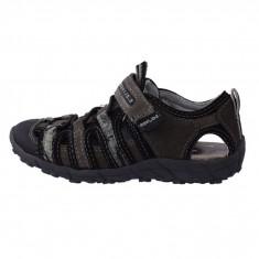 Sandale copii, din piele naturala, sOliver, 5-34212-26-14, gri