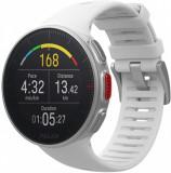 Ceas smartwatch Polar Vantage V, GPS, White, Otel inoxidabil