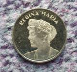 Moneda 50 bani Regina Maria 2019 Romania