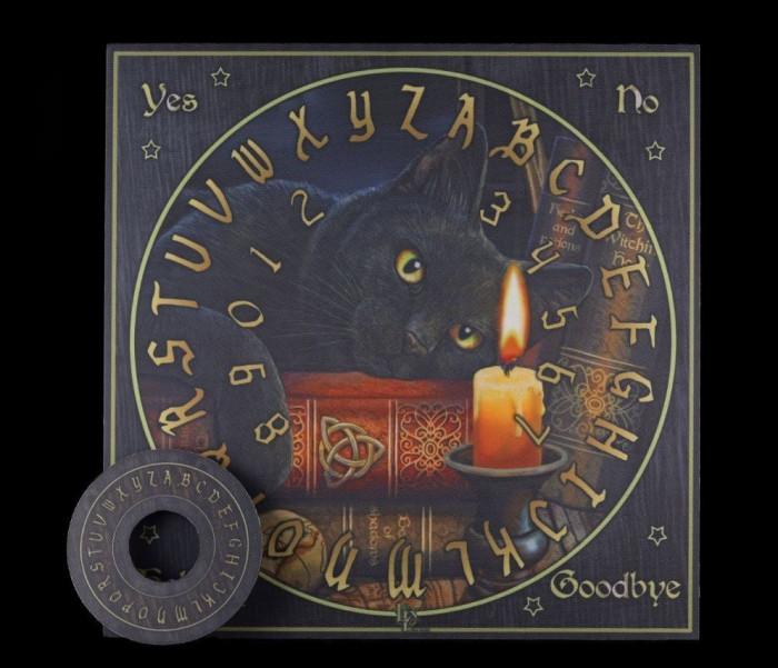 Placă Ouija Ora vrăjitoarelor+cadou un set de rune