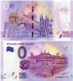 GERMANIA 2017 0 EURO SOUVENIR, CASTELUL SI PARCUL PILLNITZ, UNC