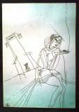 Desen penita Acasandrei Aurel ,neinramat