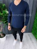 Bluza fashion barbati bleumarin - COLECTIE NOUA A6861
