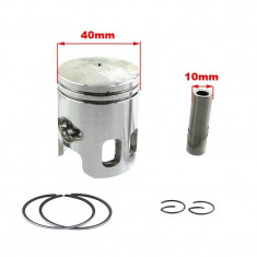 Piston + Segmenti Scuter RS Ultima 49cc 50cc 40mm bolt 10mm