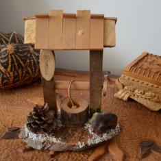 Suvenir handmade lemn / SCULPTURA RUSTICA / artizanat vechi