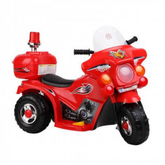 Motocicleta Electrica cu Acumulator pt. Copii Jolly Kids MB999 Rosu