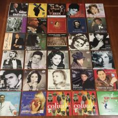 Lot 30 CD-uri Muzică Românească Rock-Pop-Folk-Romanțe-Colinde (220 lei toate!)