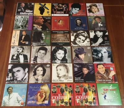 Lot 30 CD-uri Muzică Românească Rock-Pop-Folk-Romanțe-Colinde (220 lei toate!) foto