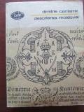 Descrierea Moldovei-Dimitrie Cantemir