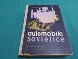 AUTOMOBILE SOVIETICE / V.I. ANOHIN/ 1957
