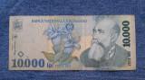 10000 lei 1999 bancnota Romania