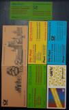 Lot de sase carnete cu timbre MNH - Germania - Bundes / Berlin