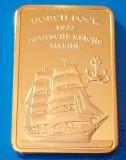 Lingou Auriu GORCH FOCK 1933 Corabie Imperiala UNC